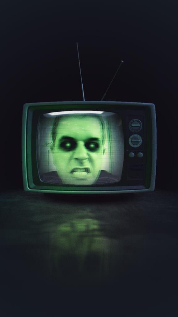 autoportrait d'Halloween instagramé - Nicolas Verlick
